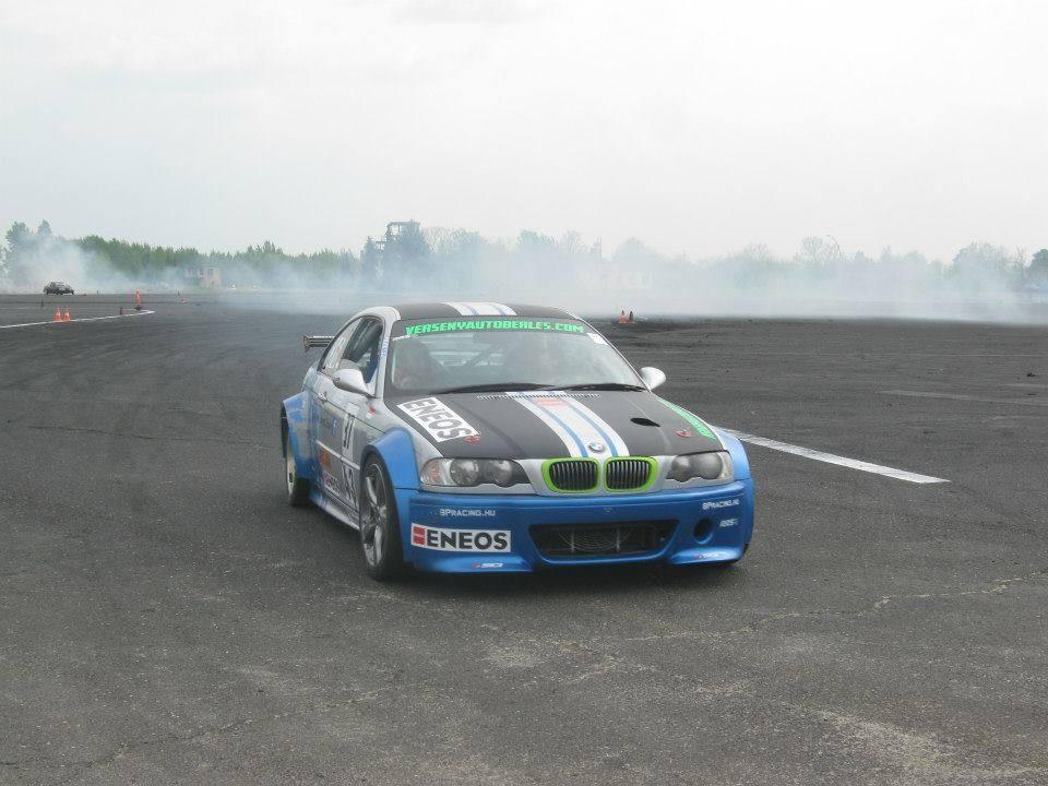 Drift oktatás BMWE46