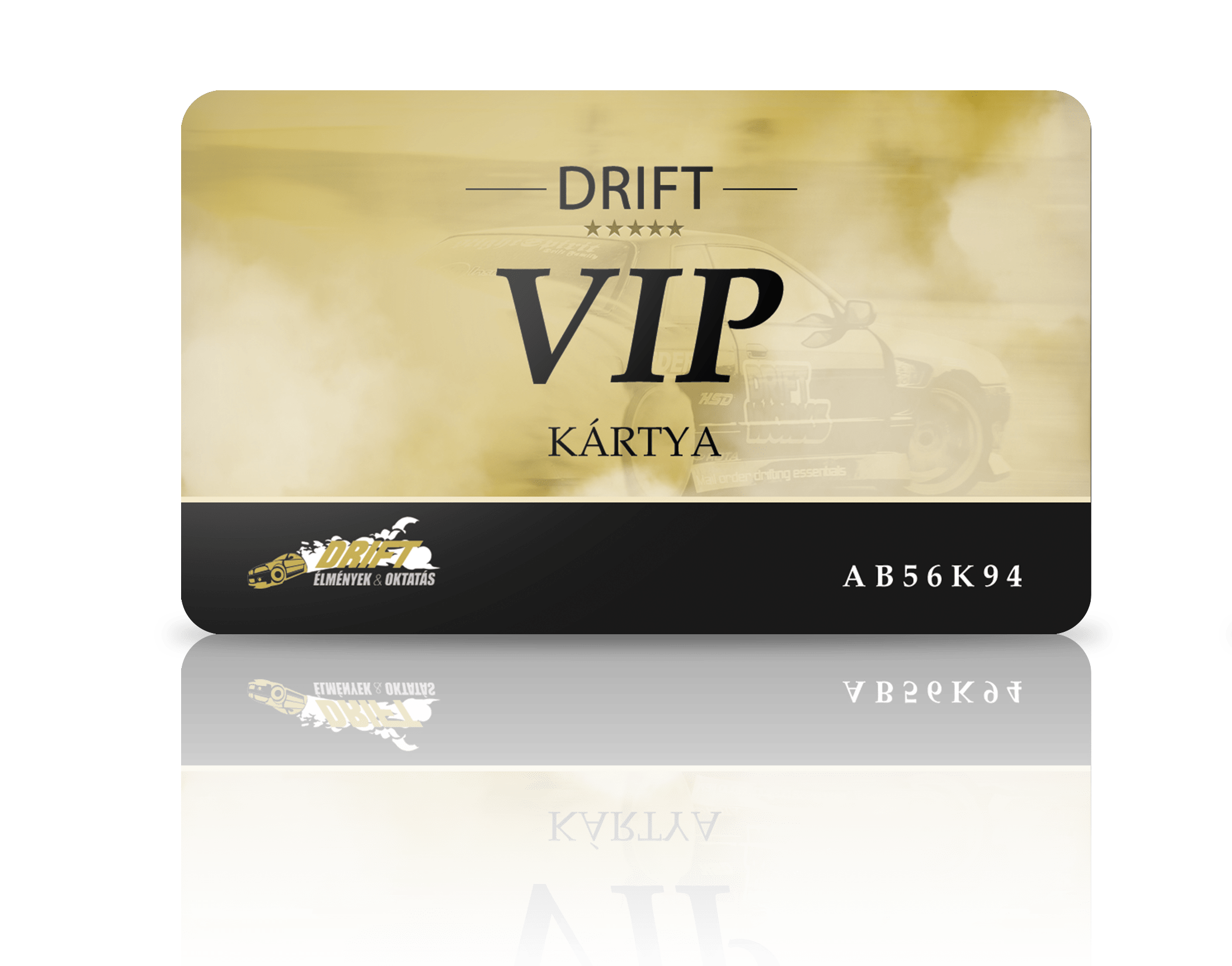 Drift VIP kártya