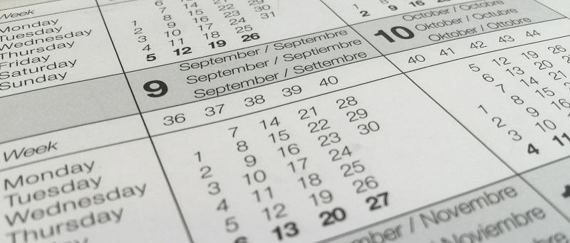 Drift naptár